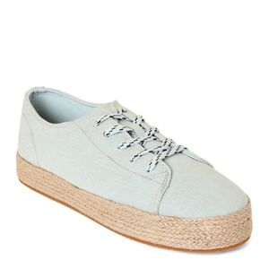 Madden Girl Denim Cannes Espadrille Low-Top Shoes